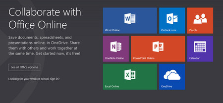 Microsoft presenta Office Online, un nuevo nombre para una mejor organizada versión web de Office