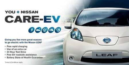 Promoción de Nissan LEAF en Inglaterra