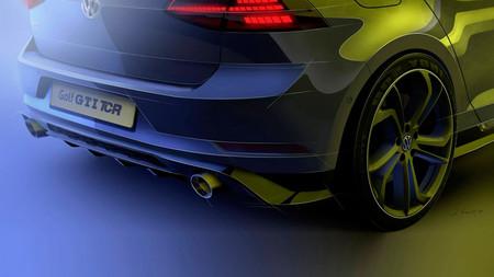 Volkswagen Golf GTI TCR, la variante de calle se desvela en forma de teaser
