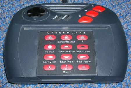 El mando con plantilla de la Jaguar