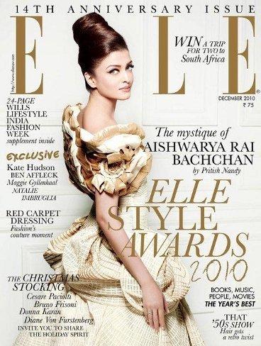 La polémica portada de Aishwarya Rai para Elle India