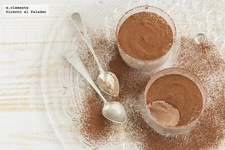 Mousse de queso crema con chocolate: receta extra cremosa