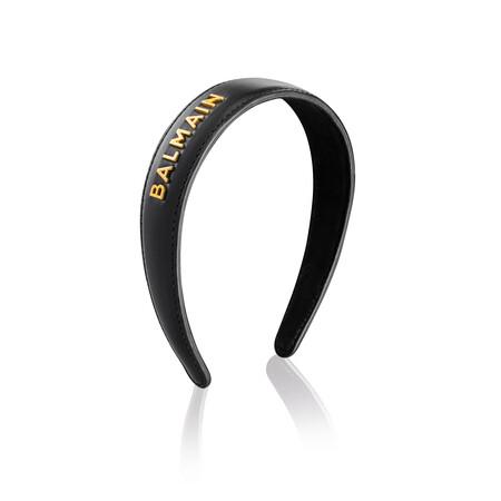 Balmainhair Accessoires Limitededition Headband Large Fw21 01