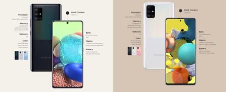 Samsung Galaxy A71 5g Y A51 5g