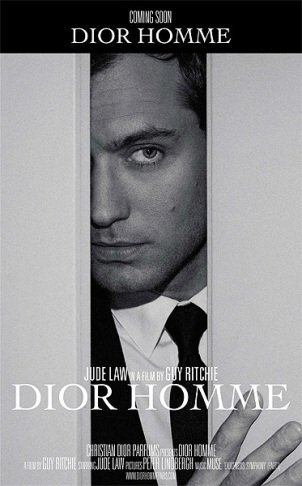 Jude Law se pone en las manos de Guy Ritchie oliendo a Dior