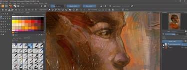 Krita, la gran alternativa gratis y open source a Illustrator se actualiza con nuevos pínceles animados, acuarelas, filtros y más
