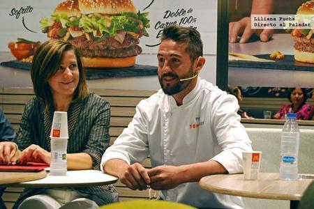 Llega a McDonald's la hamburguesa creada por Peña en Top Chef