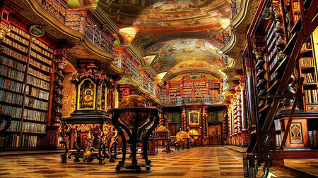 The National Library Of Prague Prague Czech Republic1