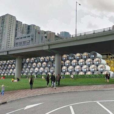 ¿Estamos locos? Casas tubería en Hong Kong para solucionar la falta de espacio