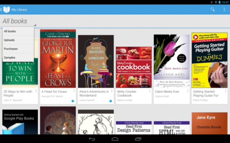Ya puedes subir tus propios eBooks a Google Play Books