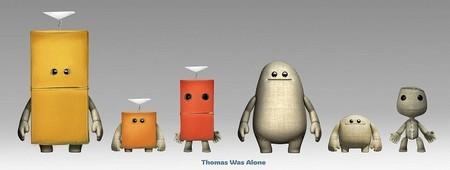Habrá trajes de Thomas Was Alone en LittleBigPlanet 3