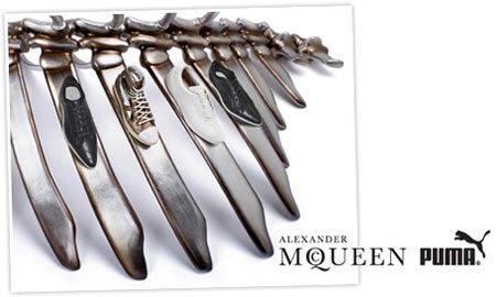 Alexander McQueen y Puma, están en los huesos