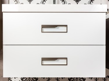 Eligiendo los tiradores perfectos para muebles de color blanco