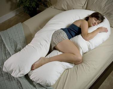 Almohada de cuerpo entero para dormir como una reina