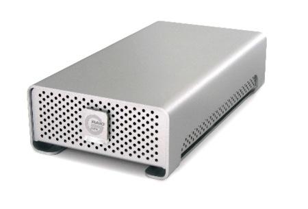 G-RAID mini, pequeño disco externo de 1 TB