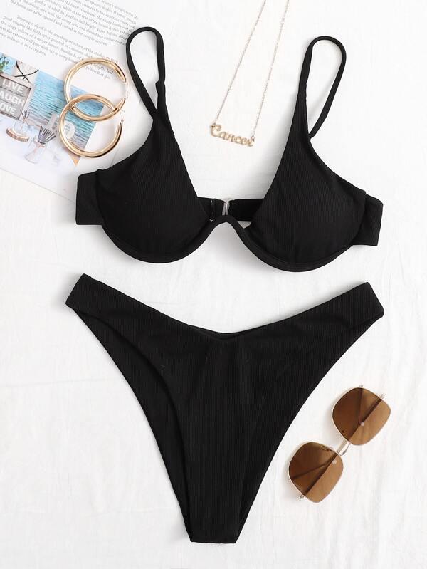 Bikini top con aro invertido