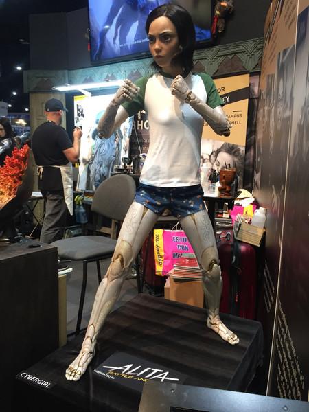 Alita en la Comic-Con