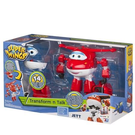 El juguete parlanchín y transformable  Jett de Super Wings está en Amazon rebajado a 23,97 euros