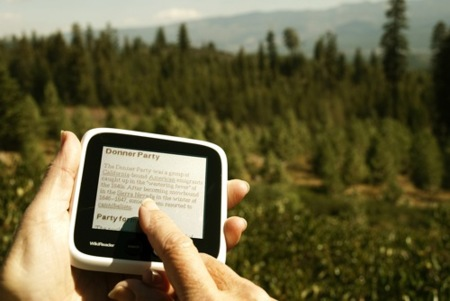WikiReader, toda una enciclopedia en tu bolsillo