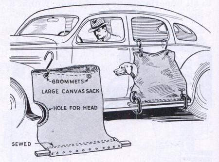 Sí, en 1936 había conductores que odiaban a sus perros, y este anuncio lo demuestra