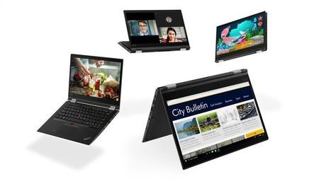 Así son las nuevas Lenovo ThinkPad de 2018: más delgadas y más poderosas con chips Intel de última generación