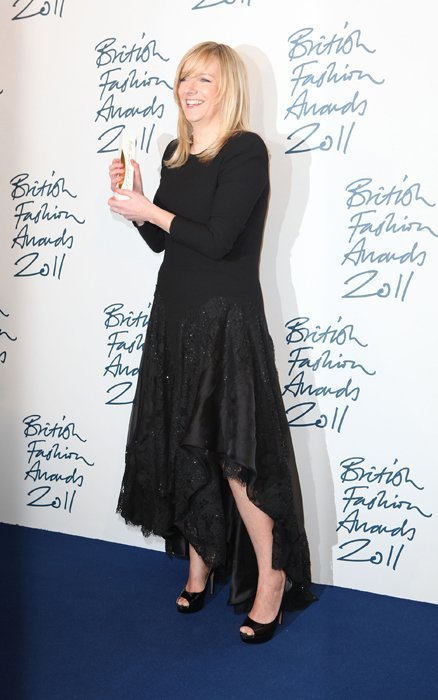Sarah Burton British Fashion Awards 2011