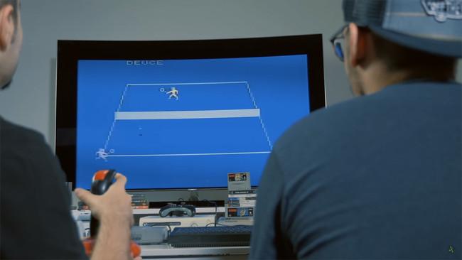 Qled Atari Juego
