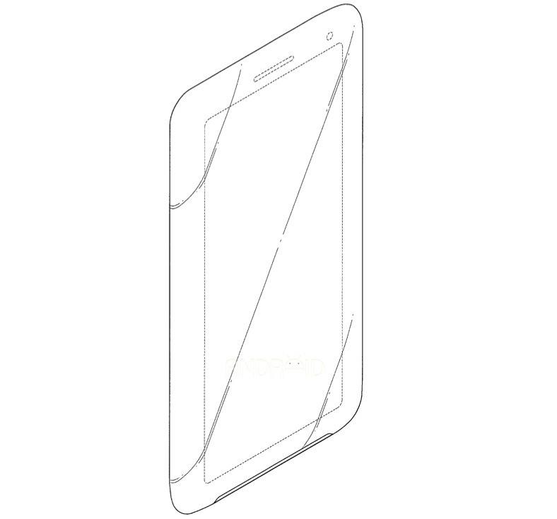 Foto de Patente smartphone Samsung 21:9 (7/8)