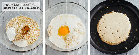 Pancakes Avena Platano Receta