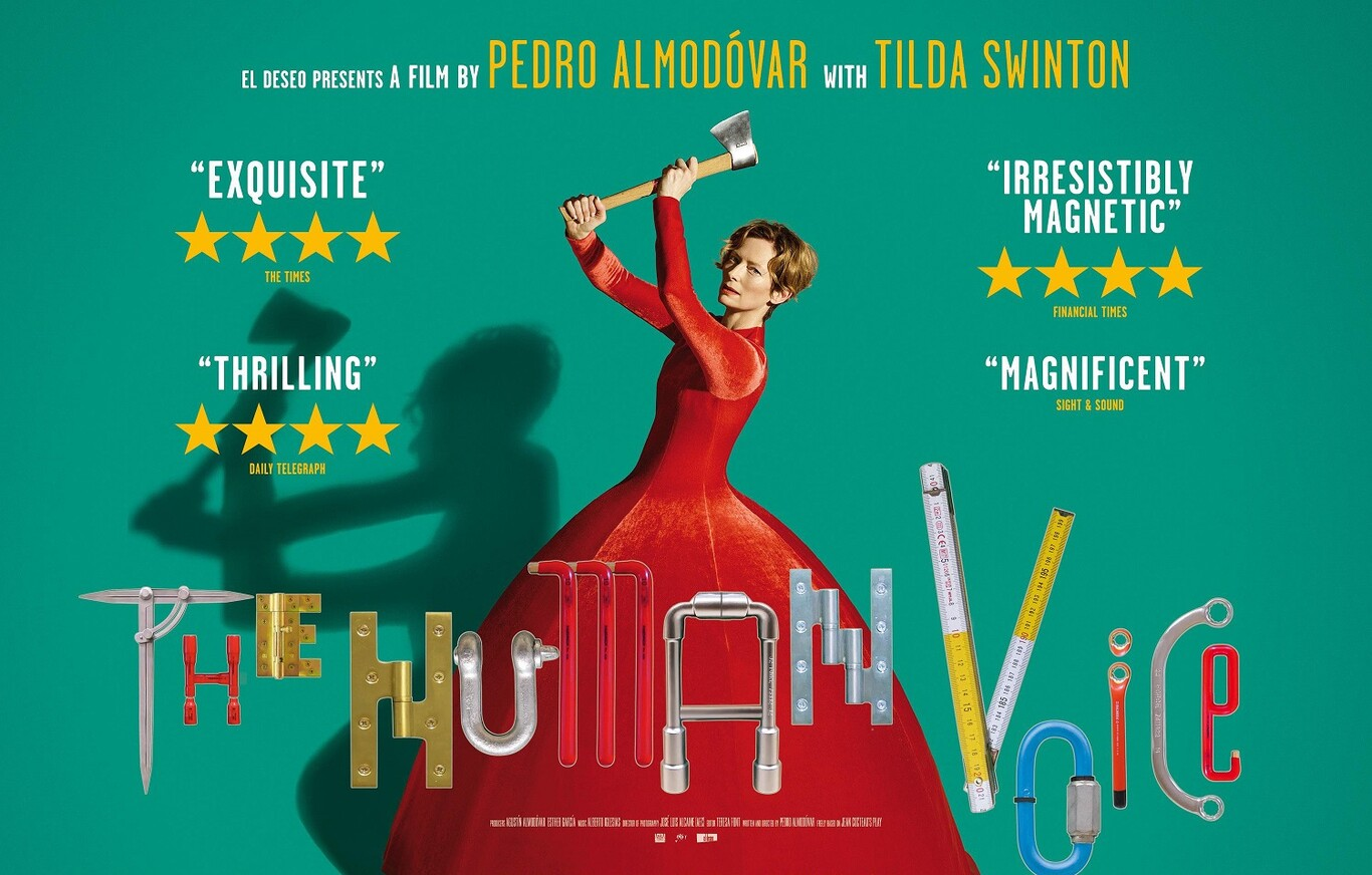La voz humana (2020) crítica: la primera obra de Pedro Almodóvar en inglés  es gran cine en formato breve con una sensacional Tilda Swinton