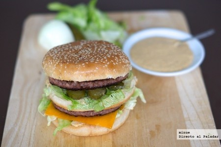 Big Mac casero