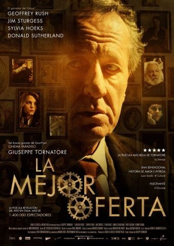 'La mejor oferta' de Giuseppe Tornatore', cartel y tráiler