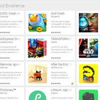Premios Android Excellence: las 32 aplicaciones y juegos más excelentes según Google