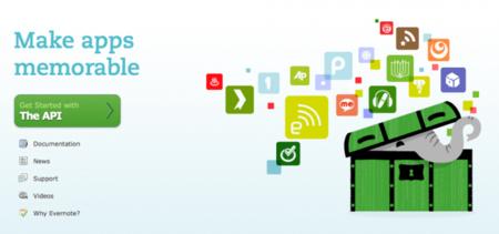 Ya era hora: Evernote saca un nuevo sitio para desarrolladores