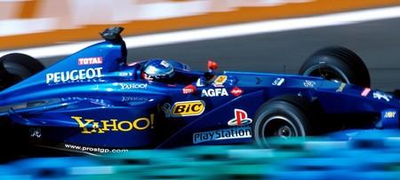 Alain Prost Peugeot F1