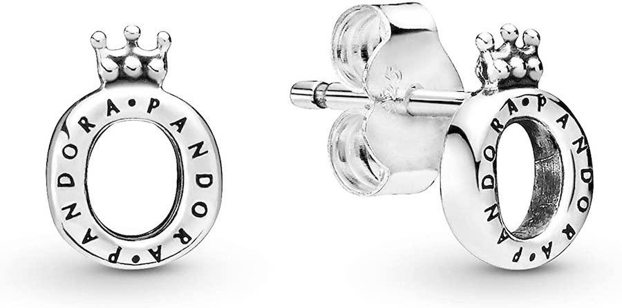 Pendientes Pandora Corona O de plata