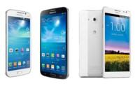 Smartphones de grandes pantallas, ¿con cuál te quedas?