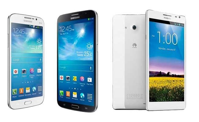 Smartphones de grandes pantallas ¿con cuál te quedas?
