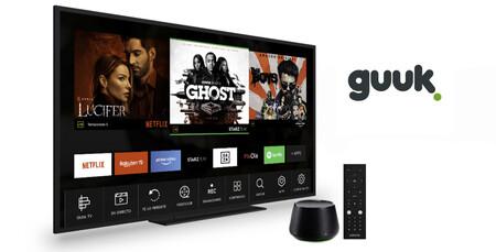 Guuk ya ofrece la televisión Agile TV Premium de Yoigo con descuento para clientes actuales