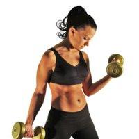 """Desmintiendo un mito: """"el ejercicio con pesas no es para mujeres """""""