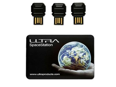 Tarjeta con 6 memorias USB categorizables