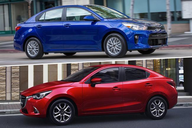Mazda 2 Sedán vs. KIA Rio Sedán: la reñida competencia por el liderazgo del segmento