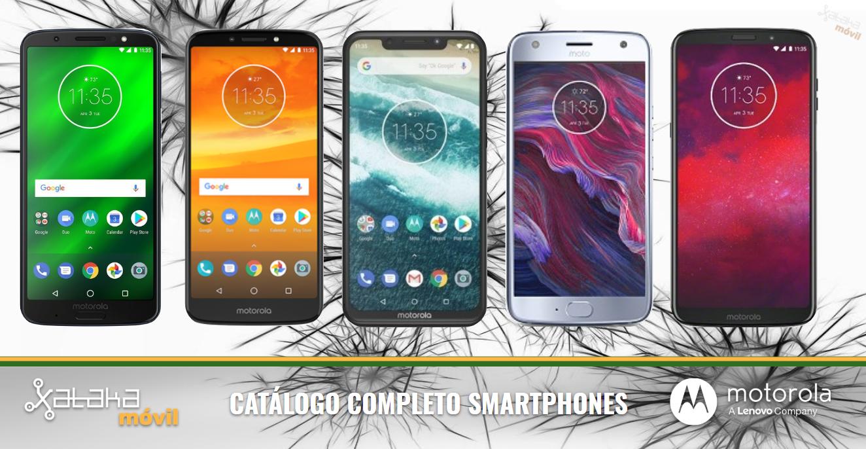 ca3f9862725 Catálogo móviles Motorola 2018 en septiembre de 2018
