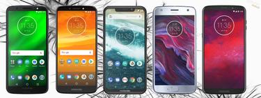 Motorola Moto One y One Power, así encajan dentro del catálogo completo de smartphones Motorola en 2018