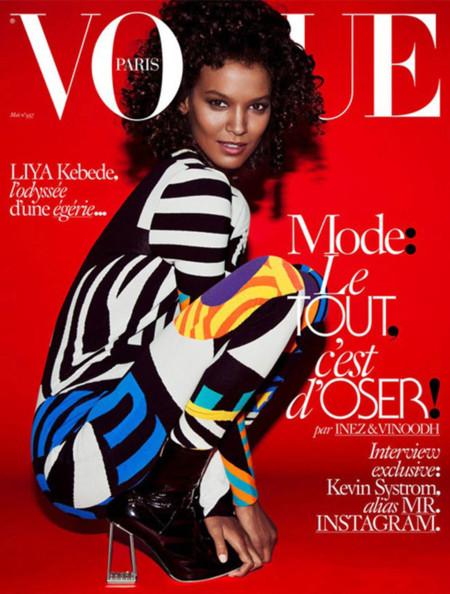 Liya Kebede Vogue Paris