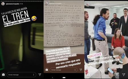 Pablo Iglesias Instagram