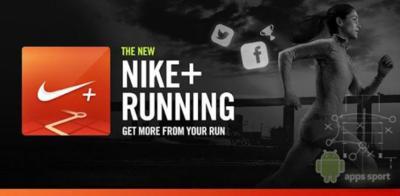 Aplicaciones Android deportes: Nike + Running