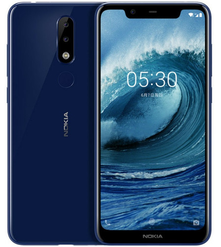 Nokia 5 1 Plus Notch