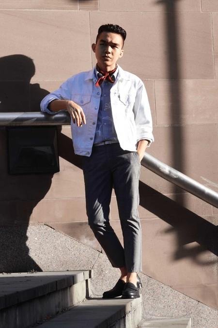 Panuelo Bandana Trendencias Hombre Street Style De La Semana 09