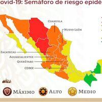 Otro estado pasa a verde en el semáforo de COVID en México: Chiapas se une a Campeche, pero seis podrían regresar a rojo